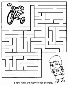 Maze Worksheets for Kids. 20 Maze Worksheets for Kids. Free Printable Mazes and Other Printable Activities for Preschool Activities At Home, Free Kindergarten Worksheets, Toddler Learning Activities, Kindergarten Learning, Worksheets For Kids, Number Worksheets, Free Preschool, Mazes For Kids Printable, Kids Mazes