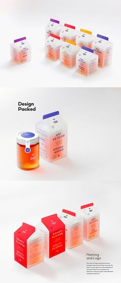 Zee – Honey Goods Built from young biologists' passion and care for bees and the environment, Zee focus on Beekeeping, Educational Services and Food Production Systems Improvement, always having honey as their key product. How can a brand convey these … Branding And Packaging, Honey Packaging, Food Packaging Design, Pretty Packaging, Beauty Packaging, Product Packaging Design, Product Branding, Product Design Poster, Yogurt Packaging