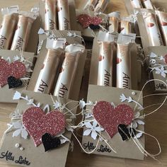 Melli's StempelParadies – goodies – craftsfeel Christmas Wedding Themes, Valentines Day Decorations, Valentines Day Funny, Valentine Day Crafts, Christmas Wrapping, Christmas Tag, Saint Valentin Diy, Dollar Store Christmas, Valentine's Day Diy