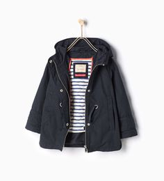 ZARA - KIDS - Parka with detachable features
