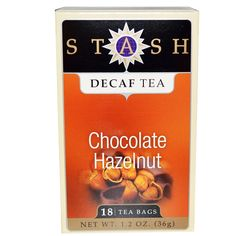 Stash Tea Company, Premium, Decaf Tea, Chocolate Hazelnut, 18 Tea Bags, 1.2 oz (36 g) - 2pcs ** For more information, visit image link. (This is an affiliate link) #TeaSamplers