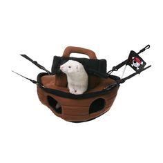 Hamac pirate #Marshall pour #furet http://www.monfufu.com/furets-jouets/153-marshall-bateau-pirate.html