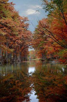 "crescentmoon06: "" Texas Hill Country! Ranger Crossing on the Medina River """