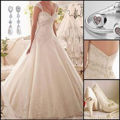 Mori Lee 2609 Beaded Tulle A-Line Wedding Dress Girls Maxi Dresses, 2015 Wedding Dresses, Princess Wedding Dresses, Wedding Bridesmaid Dresses, Wedding Attire, Wedding Gowns, Wedding Decor, Wedding Ideas, Wedding Dress Accessories