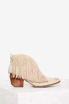 Coconuts by Matisse Lambert Fringe Ankle Boot - Festival Shop