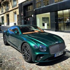 Good morning. by @mateo.r.photography #bentley #continental #GT #paris