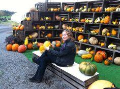 Pumpkin picking upstate. #FallforNewYork