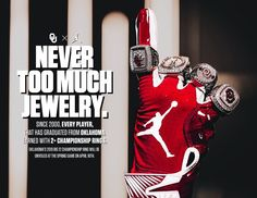 """""""In my best voice, 🎶 """"Never too much, 🎶Never too much, 🎶Never too much, Never too much. College Football Recruiting, University Of Oklahoma, Championship Rings, Sports Graphics, Class Ring, Design Inspiration, Graphic Design, Twitter, Color"""