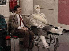 Scumbag Mr. Bean…