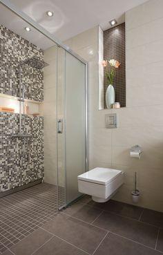 Badezimmer Fliesen Braun Und Beige Erstaunliche | Lazienka | Pinterest Bad Fliesen Braun