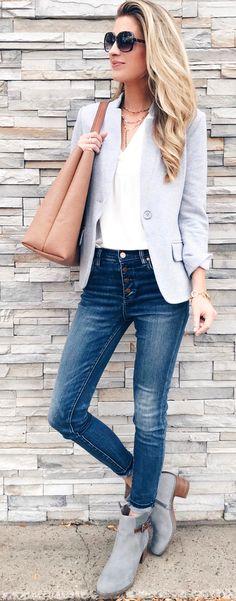 b9a69fcfb Las 344 mejores imágenes de Blazer de mujer en 2019 | Moda estilo ...
