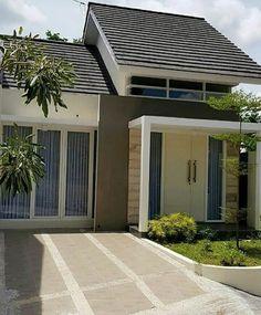 Ideas For Home Interior Design Layout Paint Colors Bungalow Decor, Bungalow House Design, House Front Design, Simple House Plans, Dream House Plans, Modern House Plans, Interior Design Layout, Exterior Design, Exterior Paint