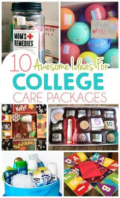 10 Awesome Ideas For College Care Packages ad college student tips college student 433330795390955140 College Gift Baskets, College Gifts, Grad Gifts, Diy Gifts, College Care Packages, College Gift Boxes, Care Package College, Roommate Gifts, College Hacks