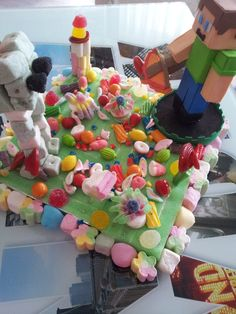 tarta chuches minecraft