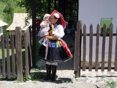 Holloko is the first settlement of the world listed as village on UNESCO World Heritage Site in The village's 67 protected buildings of Holloko are characteristic peasant houses from the Folk Costume, Costumes, Folk Dance, Budapest, Bugs, Winter Hats, Faces, Dress Up Clothes, Costume