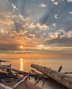 Smoky Beach on the Great Slave Lake - Hay River, Northwest Territories, Canada