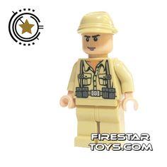LEGO Indiana Jones Mini Figure - German Soldier 2 | Indiana Jones LEGO Minifigures | LEGO Minifigures | FireStar Toys