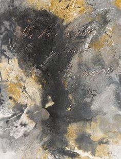 "Apocalypse 3, Acrylic, Calcium Carbonate, Carbon, Graphite, Emulsion and Pigments on Paper, 24"" x 18"", $500, http://transformgallery.com/Erick-sanchez/"