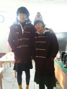 Lee Kwang Soo and Kim Joong Kook ♡ Running Man