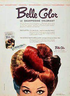 PUBLICIDAD CLÁSICA: Un anuncio 'clásico' de tintes para el cabello.
