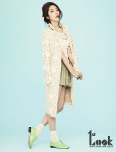 park shin hye for 1st look