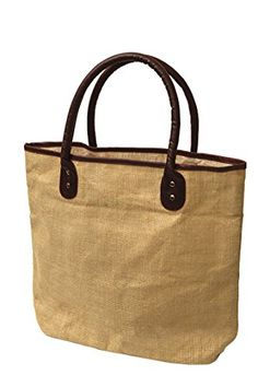Pack of 25 -Fashion Jute Burlap with Faux Leather Handles – Summer Tote Bags   Pack of 25 -Fashion Jute Burlap with Faux Leather Handles - Summer Tote Bags This Large fashion jute bag has spacious compartment providing convenience to the user. You can staff this economical jute bag with basic things such as folder for your office, lunch, water bottle or stuff for a beach day out. In addition, shoulder length faux leather handles is very sturdy to carry heavy things and at the same ti..