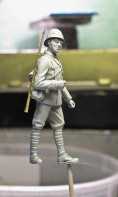 Royal Netherlands Army infantryman 1940 1/35
