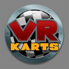Logo for 'VR Karts', Occulous Rift