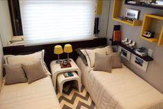 Best 70 Bedroom Ideas for Your Twins that Make Your Children… – Decoration Ideas Trendy Bedroom, Modern Bedroom, Home Bedroom, Bedroom Decor, Bedroom Ideas, Yellow Headboard, Kids Bedroom Designs, Single Bedroom, Teen Girl Bedrooms