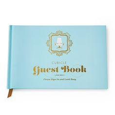 Look what I found at UncommonGoods: cubicle guest book... for $15 #uncommongoods