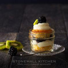 Stonewall Kitchen Gluten Free Vanilla Cupcake Parfaits