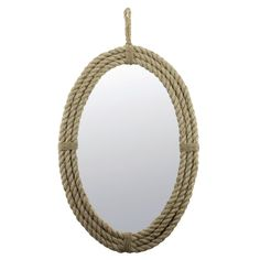 Found it at Wayfair - Latitudes Rope Mirror