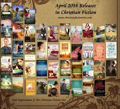 April New Releases in Christian Fiction - Soul Inspirationz   The Christian Fiction Site