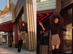 Fall fashion goals with Lauren Johnson for Jute.