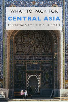 The Ultimate Packing Guide For Central Asia: All The Essentials You'll Need For A Trip Along The Silk Road #packinglist #travel #centralasia Essentials For Central Asia | Packing List For Central Asia | Packing For The Silk Road | Everything You Need For Kyrgyzstan, Kazakhstan, Uzbekistan, Tajikistan | Hiking Essentials
