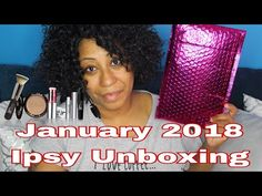 my January 2018 Ipsy Bag Unboxing