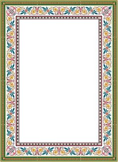 Frame Border Design, Page Borders Design, Flower Background Wallpaper, Retro Background, Borders For Paper, Borders And Frames, Rose Frame, Flower Frame, Wedding Invitation Layout