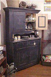 Primitive Painted Furniture | American Furniture by Shaka Studios: Primitive Furniture Beginnings