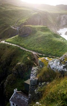 Carrick-A-Rede Rope Bridge, Antrim, Ireland