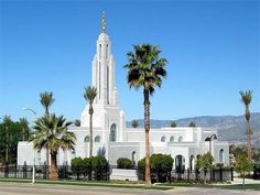 Redlands CA Temple - Redlands Temple - Cake Topper - Centerpiece - LDS Temple…