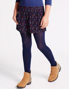 Ditsy Print Casual Shorts