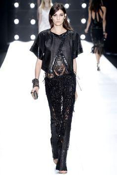 Roberto Cavalli Spring 2013 Ready-to-Wear Fashion Show - Julia Nobis