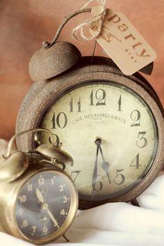 Vintage Alarm Clocks......sounded like a fire alarm through the house