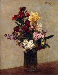 Spring Flowers - Henri Fantin-Latour