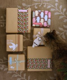 merry whimsical wrapping by almostbunnies | Flickr
