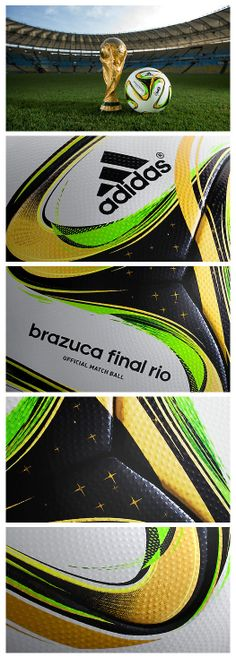 The biggest game in football demands a special ball. The adidas Brazuca Final Rio Official Match Ball.