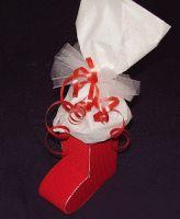 Nikolaus-Stiefel aus Pappe basteln