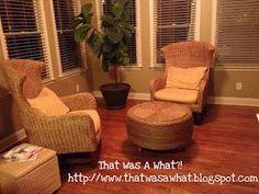 La transformación de un caucho a una mesa excepcional para combinar con unos muebles de Rathan