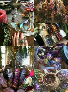 """demoniclour: """"Herbal Witch Aesthetic """""""