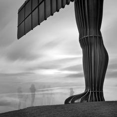 Antony Gormley, Angel of the North on ArtStack Crosby Beach, Andy Goldsworthy, Angel Of The North, Steel Sculpture, Antony Gormley, Madison Square, Beauty Photos, Liverpool, New York City